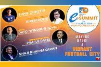 Football Delhi eSummit on Delhi Football Day, August 3. (Image courtesy: Football Delhi)