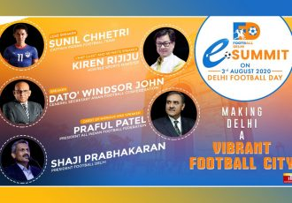 Football Delhi eSummit on Delhi Football Day, August 3. (Image courtesy: Football Delhi)