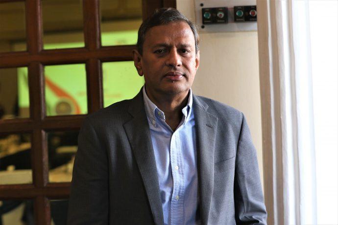 All India Football Federation (AIFF) General Secretary Kushal Das. (Photo courtesy: AIFF Media)