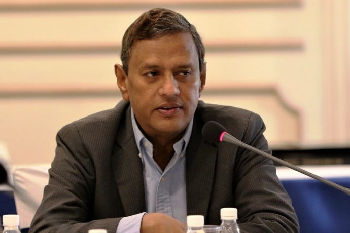 All India Football Federation (AIFF) General Secretary Kushal Das. (Photo courtesy: AIFF Media)