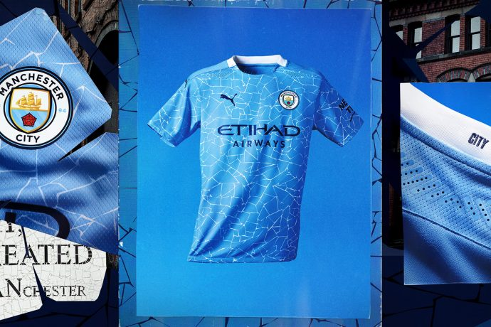 The new Manchester City home jersey's pattern is inspired by the iconic mosaics located in the creative hub of Manchester's Northern Quarter. (Photo courtesy: PUMA)