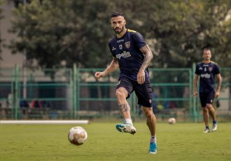 Chennaiyin FC's Brazilian defender Eli Sabia. (Photo courtesy: Chennaiyin FC)