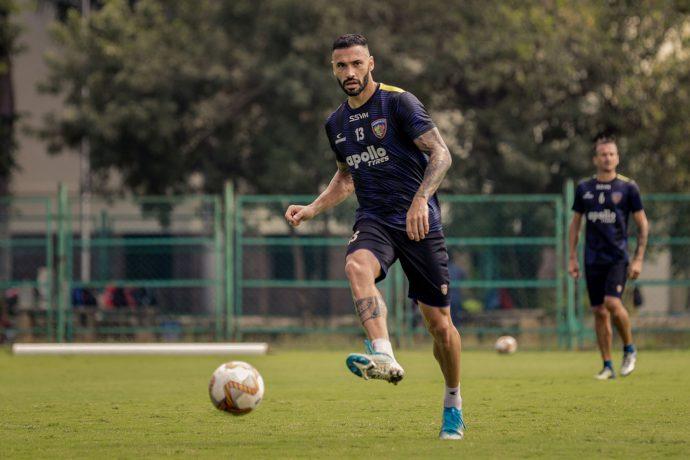 Chennaiyin FC's Brazilian defender Eli Sabia. (Photo courtesy: Chennaiyin FC)