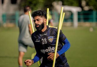 Chennaiyin FC midfielder Germanpreet Singh. (Photo courtesy: Chennaiyin FC)