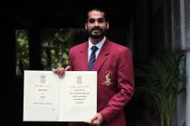 Arjuna Award winner Sandesh Jhingan. (Photo courtesy: AIFF Media)