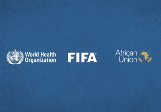 FIFA teams up with African Union, WHO and CAF to promote campaign against domestic violence. (Image courtesy: FIFA)