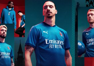 The AC Milan Third Kit is inspired by the trail blazing designs of Milan's Alta Moda. (Photo courtesy: PUMA)