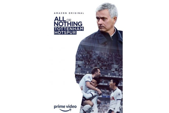 All or Nothing: Tottenham Hotspur on Amazon Prime Video (Image courtesy: Amazon Prime Video)