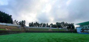 Bhaichung Bhutia Stadium in Namchi, Sikkim. (Photo courtesy: AIFF Media)