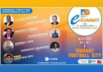 Football Delhi eSummit - Commercial Viability & Opportunities in the City (Image courtesy: Football Delhi)