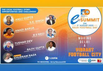 Football Delhi eSummit - The Local Football Story: Opportunities & Challenges (Image courtesy: Football Delhi)