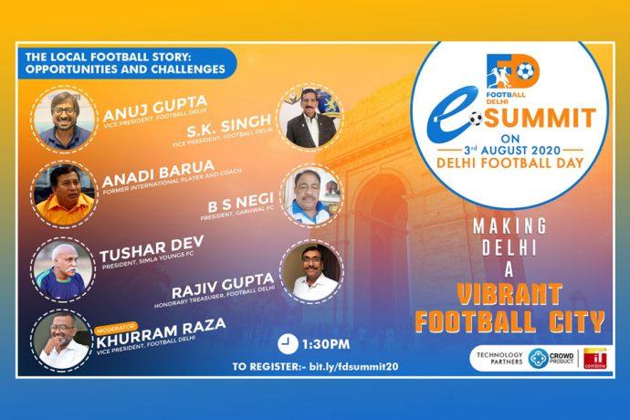 Football Delhi eSummit - The Local Football Story: Opportunities & Challenges (Image courtesy: Football Delhi)