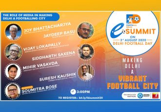 Football Delhi eSummit - The Role of Media in making Delhi a Footballing City (Image courtesy: Football Delhi)