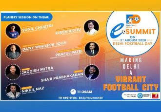 Football Delhi eSummit - Planery Session (Image courtesy: Football Delhi)