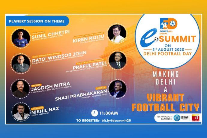 Football Delhi eSummit - Planery Session (Image courtesy: Football Delhi)
