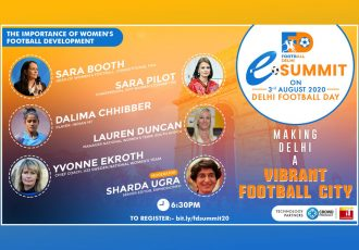 Football Delhi eSummit - The Importance of Women's Football Development (Image courtesy: Football Delhi)