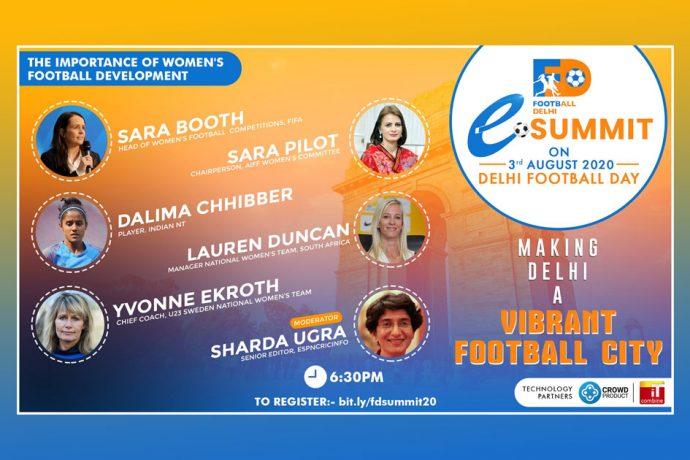 Football Delhi eSummit - The Importance of Women's Football Development (Image courtesy: Football Delhi)