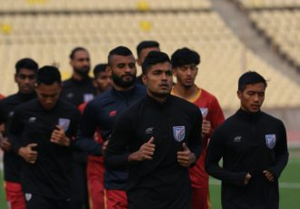 Indian national team training session. (Photo courtesy: AIFF Media)