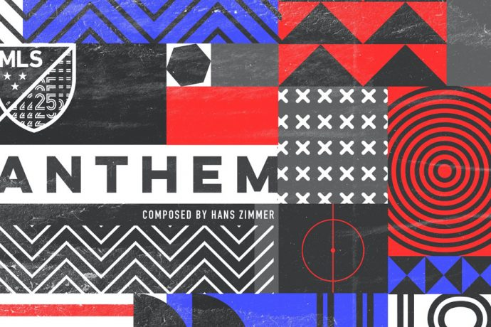 MLS' official Hans Zimmer-composed anthem released features a fan-designed album art. (Image courtesy: Major League Soccer)
