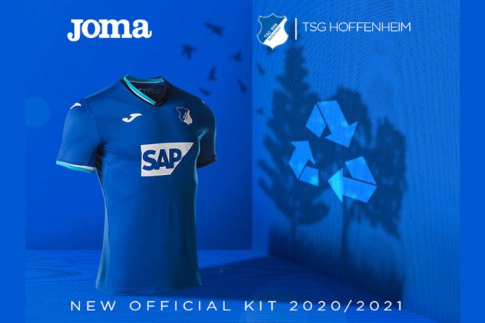 TSG 1899 Hoffenheim and Joma present the club's first sustainable kit. (Image courtesy: Joma)