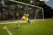 Chennaiyin FC goalkeeper Karanjit Singh. (Photo courtesy: Chennaiyin FC)