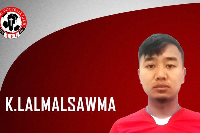 Aizawl FC defender K. Lalmalsawma (Photo courtesy: Aizawl FC)