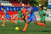 Indian Women's national team player Manisha in action at the COTIF Tournament in Spain. (Photo courtesy: AIFF Media)