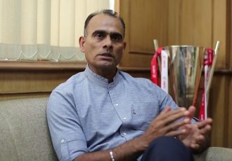 AIFF Head of Coach Education Savio Medeira. (Photo courtesy: AIFF Media)