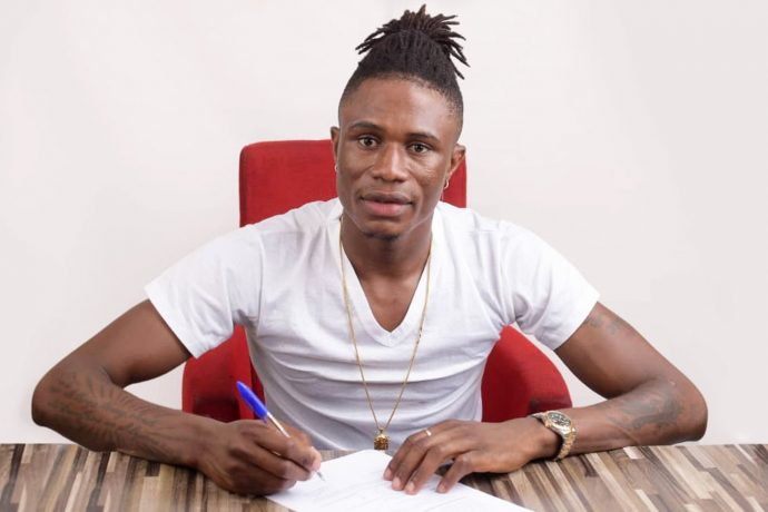 Nigerian international Stephen Eze has signed a contract with Jamshedpur FC. (Photo courtesy: Jamshedpur FC)