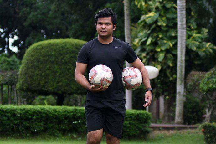 Mohammedan Sporting Club head coach Yan Law. (Photo courtesy: Mohammedan Sporting Club)