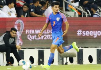 Indian national team midfielder Anirudh Thapa. (Photo courtesy: AIFF Media)