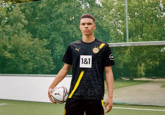 The new Borussia Dortmund away kit for the 2020/21 season is inspired by Dortmund's incredible street art and fan culture. (Photo courtesy: PUMA)