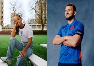 """The 2020 Nike England collection employs the use of bespoke graphic prints that depict a """"community of lions"""". (Photo courtesy: Nike)"""
