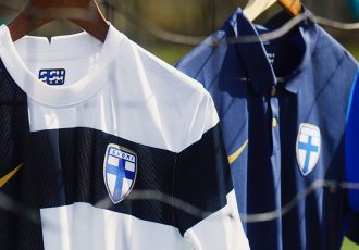 Finland's 2020 collection is inspired by the fearless attitude that helped the men's team secure qualification for a first major tournament. (Photo courtesy: Nike)