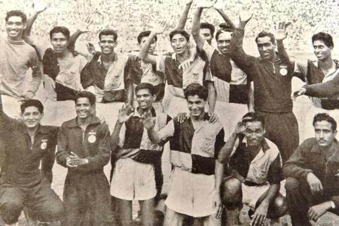 File picture of the gold-winning Indian national team at the 1962 Asian Games in Jakarta, Indonesia. (Photo courtesy: AIFF Media)