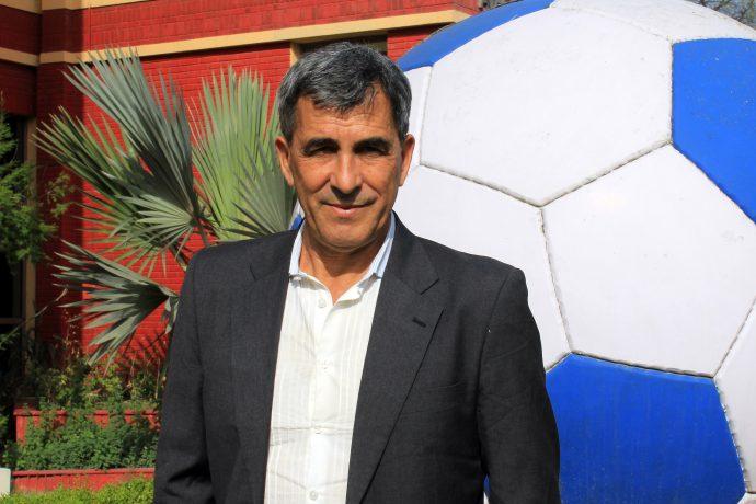 AIFF Technical Director Isac Doru. (Photo courtesy: AIFF Media)