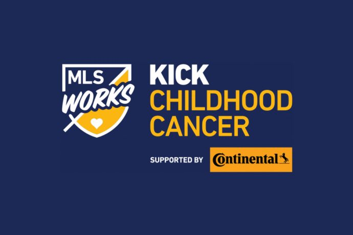 Continental Tire joins forces with MLS for 7th annual Kick Childhood Cancer campaign. (Image courtesy: Major League Soccer)