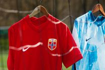 Norway's dramatic landscapes provide the inspiration for the elemental beauty of the national team's 2020 collection. (Photo courtesy: Nike)