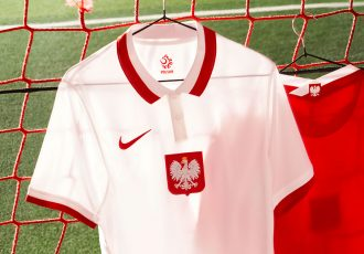 Poland's 2020 national team collection digs into the archives to draw inspiration from a golden era for the team. (Photo courtesy: Nike)