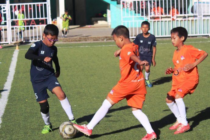 Golden Baby League match action in Champhai, Mizoram. (Photo courtesy: AIFF Media)