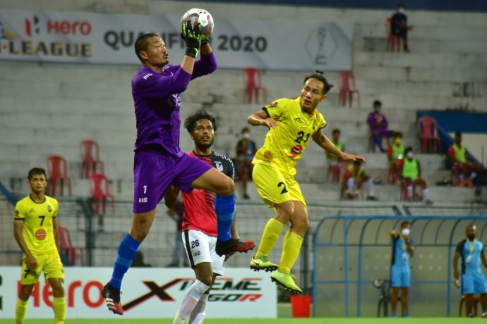 Hero I-League Qualifier 2020 match action between Garhwal FC and FC Bengaluru United. (Photo courtesy: I-League Media)