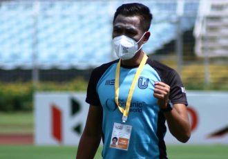 FC Bengaluru United assistant coach Gouramangi Moirangthem Singh. (Photo courtesy: AIFF Media)