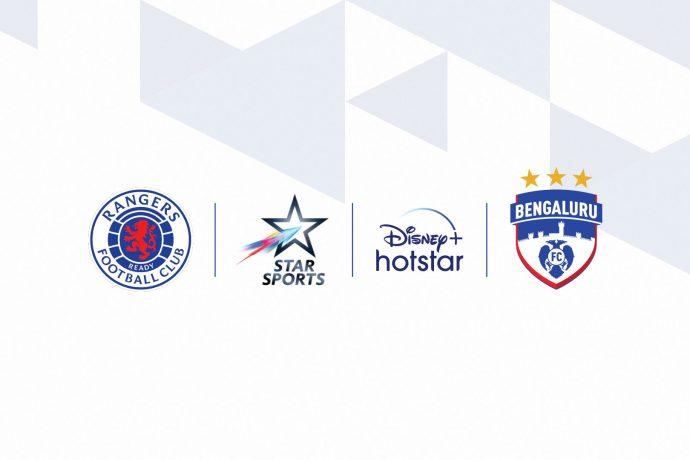 Rangers FC x Star Sports x Bengaluru FC (Image courtesy: Bengaluru FC)