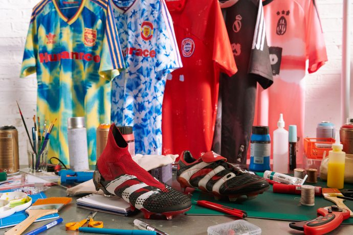 Humanrace Football Collection: Reimagined jerseys for five legendary clubs. (Photo courtesy: adidas)