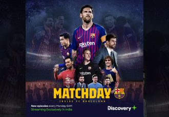 "Discovery Plus premieres sports docuseries ""Matchday – Inside FC Barcelona"". (Image courtesy: FC Barcelona via Twitter)"