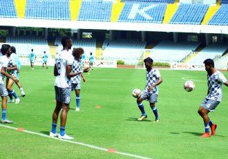 ARA FC training session. (Photo courtesy: AIFF Media)