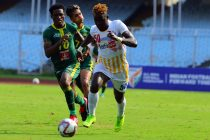 Hero I-League Qualifier 2020 match action between Bhawanipore FC and Garhwal FC. (Photo courtesy: I-League Media)