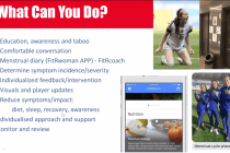Presentation on women's football at the AIFF International Virtual Coaching Conference. (Image courtesy: AIFF Media)