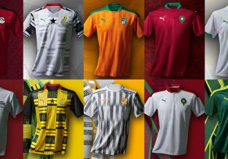PUMA unveils the new African nations home and away kits - crafted from culture. (Photo courtesy: PUMA)