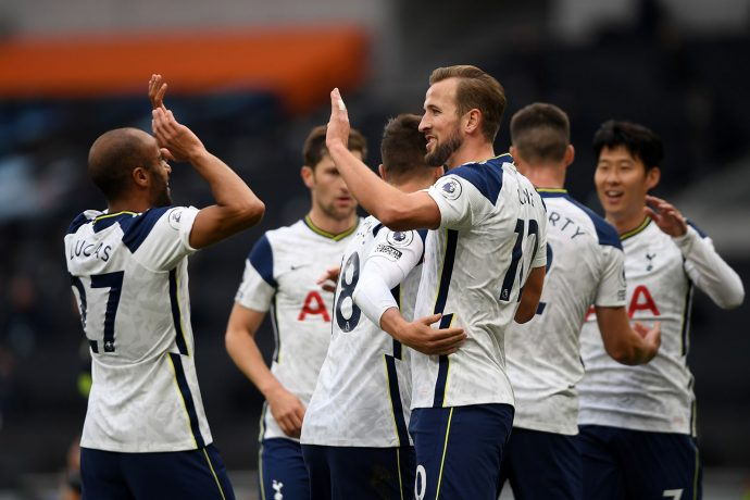 Tottenham Hotspur players. (Photo courtesy: Hyperice / Tottenham Hotspur FC)
